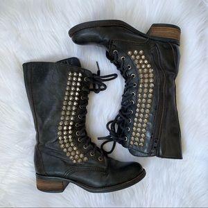 Steve Madden Shoes - Steve Madden Studded Combat Boots